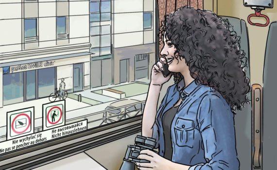 Dziewczyna z pociągu Rozmowy w oczekiwalni Perfect Smile 01
